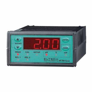 Oakton Eutech pH 200 1/8-DIN pH/ORP Controller, with NIST Traceable Certificate of Calibration - WD-56700-70