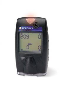"Biosystems - Sperian - Honeywell MultiPro Multi Gas Detector - LEL / O2 / ""Duo-Tox"" (CO/H2S), Alkaline, Datalogging Vibrating - 54-48-314ADY"
