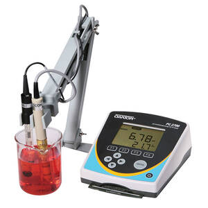 Oakton PC 2700 Meter with pH Electrode, Conductivity/Temp Probe, Electrode Stand, and Software - WD-35414-00