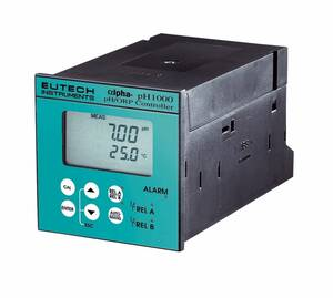 Oakton Eutech pH 1000 1/4-DIN Controller, 220 VAC, with NIST Traceable Certificate of Calibration - WD-56710-17