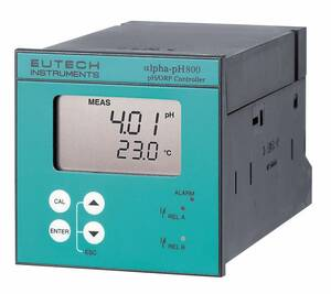 Oakton Eutech pH 800 1/4-DIN On/Off Controller, 110 VAC - WD-56705-00