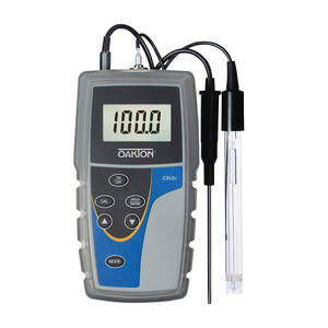 Oakton Ion 6+ Meter Kit, 0.0 to 100.0°C Temperature Range, 0.00 to 14.00 pH Range, ±1999 mV Range, and 0.01 to 1999 ppm - WD-35613-82