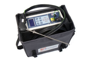 E Instruments E8500-OCN-0-12 Portable Industrial Flue Gas & Emissions Analyzer with O2 (0-25%), CO (0-8000ppm), & NO/NOx (0-4000ppm) Gas Sensors