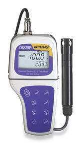 Oakton DO 300 Portable Waterproof Dissolved Oxygen Meter with DO Probe (Backlit Display) - WD-35641-00