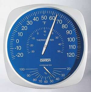 Digi-Sense Large Dial Wall Mount Thermo-Hygrometer - WD-35700-20