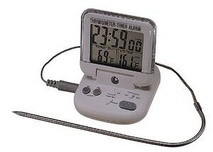 Digi-Sense Tabletop Thermometer with Alarm/Timer - WD-90080-00