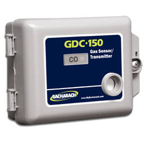 Bacharach 5201-1030 GDC-150 Gas Sensor Transmitter, NEMA 1 Housing, MOS Combustible Sensor