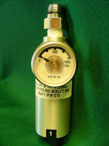 Regulator for 29 / 58 Liter Aluminum Cylinder (Reactive Mixtures-SS Gauge)