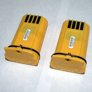 Honeywell Analytics Two (2) NiMH Rechargeable Battery Packs-Lumidor Yellow - 2302B2015