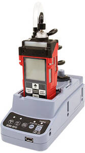 RKI Instruments SDM-2012 Single Point Calibration Station for GX-2012 and Gas Tracer with AC Adaptor, Flash Drive, USB Cable, Tubing & Installation CD - 81-SDM2012-01
