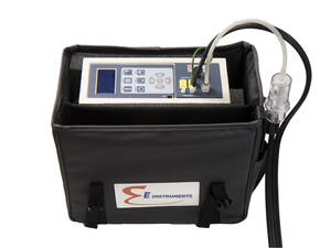 E Instruments E5500-5 Portable Industrial Flue Gas & Emissions Analyzer, O2 (0-25%), CO (0-8000ppm), NO/NOx (0-4000ppm), NO2 (0-1000ppm), & SO2 (0-4000ppm)