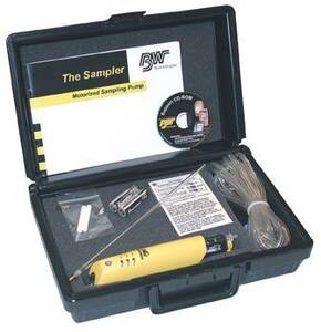 BW Technologies SamplerPak Motorized Sampling Pump Kit, ATEX Approved, with Alkaline Batteries