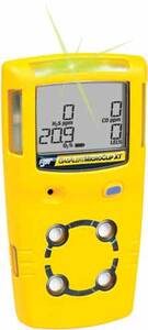 BW Technologies GasAlertMicroClip Extreme Detector Combustible (%LEL), Hydrogen Sulfide (H2S) - Yellow Housing