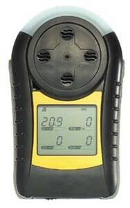 Honeywell Analytics UL/CSA Certified MiniMAX X4 4-Gas detector Portable - Minimax-4-OFCH