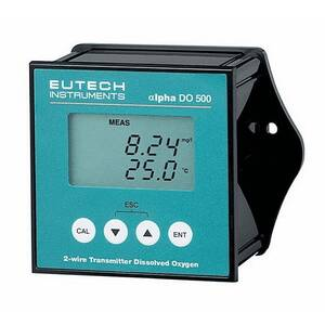 Oakton Eutech DO 500 1/4-DIN Dissolved Oxygen Transmitter with Display - WD-35151-10