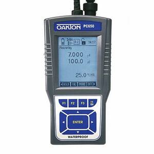 Oakton PC 650 Portable Waterproof pH/Conductivity Meter - WD-35431-02