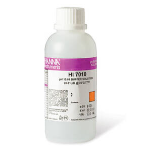 Hanna 10.01 pH Buffer Solution 1 x 230 mL bottle - HI7010M